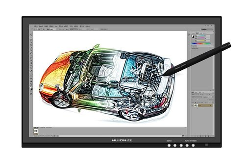 huion gt-190 professional graphic tablet