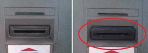 fake ATM card reader